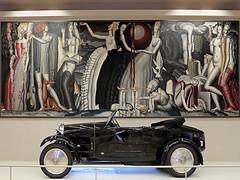 Art Déco. Bugatti type 40, 1927 (pivapao's citylife flavors) Tags: paris france indoors trocadero architecture museum nopeople