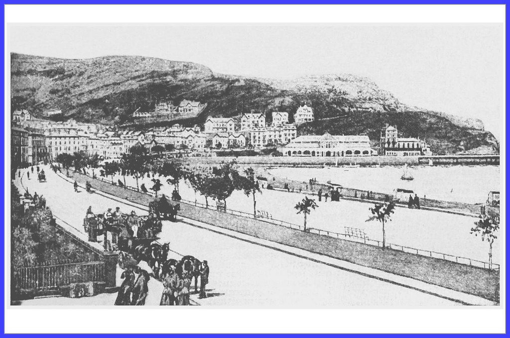 Llandudno and Great Orme Head . Circa 1898 .