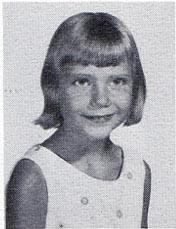 Connie Giesselmann, second-grade student at St John Elementary School in Seward, Nebraska
