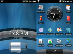 Android Desktop (demi adejuyigbe) Tags: g1 tmobile android homescreen htc androidandme htchero aamcontest1