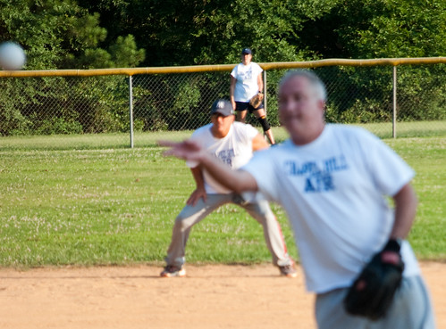 Softball Out of Focus