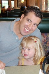 Chris & Catie at breakfast