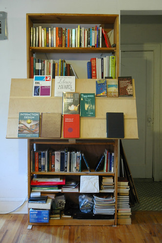 Tim's book rack