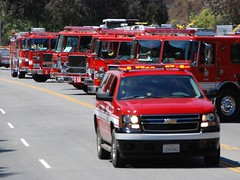 LAFD forms Strike Team in July 2009