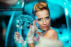 Balint Antonia- Welcome to IceWorld (Tibi Williams) Tags: ice canon mask 85mm jeg antonia 5d cave 12 tibor kek balint rtl klub mark2 barlang kasza hideg maszk palvogyi jegszobraszat