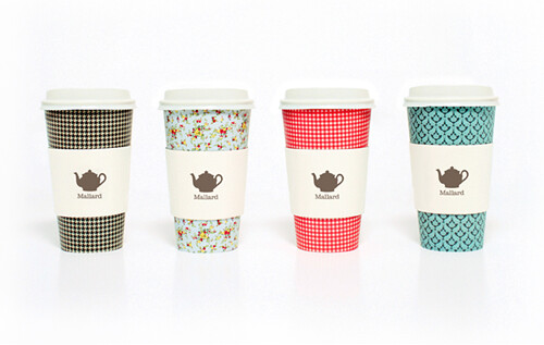 Mallard Tearooms Cups Designed by Sarah Walsh