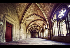 Hogwarts (isayx3) Tags: door light church germany nikon post harrypotter sigma hallway explore cloister process 1020mm hogwarts frontpage fridays trier d40 guidomusch