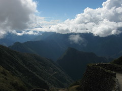 Machu Picchu Mountain from Puyupatamarca