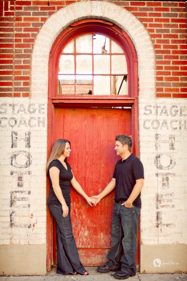 Downtown Fort Wort Engagement