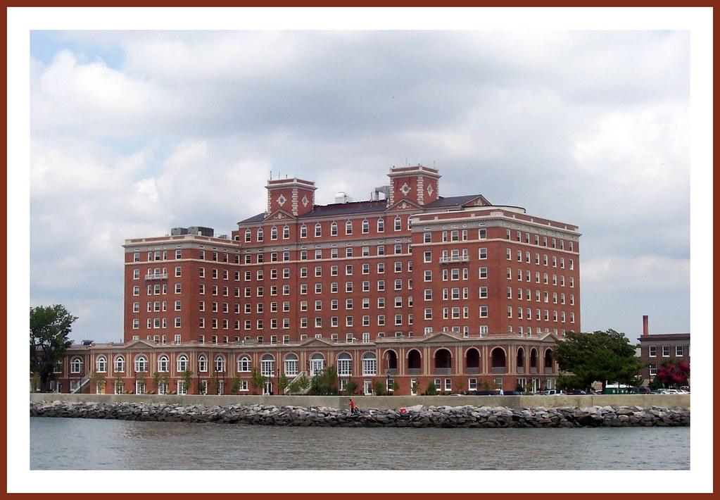 Historic Chamberlin Hotel in Hampton, Virginia