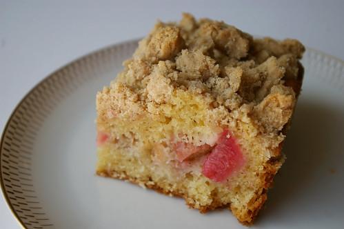 Big Crumb Rhubarb Coffee Cake