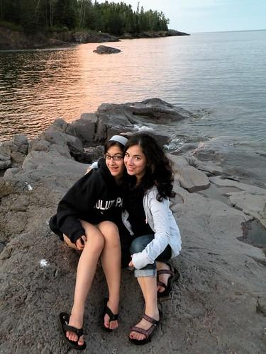 Me & my girl, Lake Superior 2009