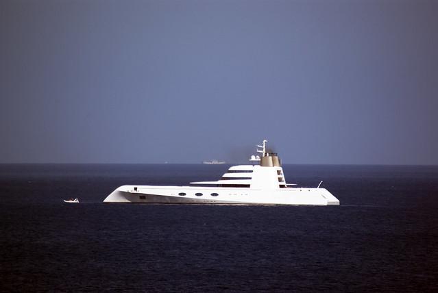 """Lo yacht """"A"""" di Andrey Melnichenko"""