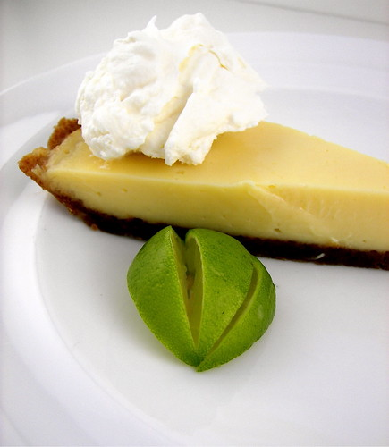 Key Lime Pie with Gingersnap Crust