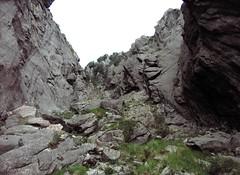 Crête de Compolelli : dans le couloir de Punta Chantata