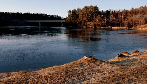 ottawa river at bryson