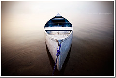 solitude (moe chen) Tags: ocean beach pine point boat nikon maine sigma canoe moe scarborough 1020mm chen dinghy d300 moe76