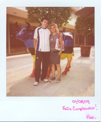 Polaroid-Cumpleañera