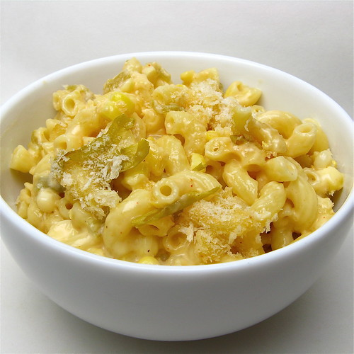 Green Chile & Corn Mac & Cheese