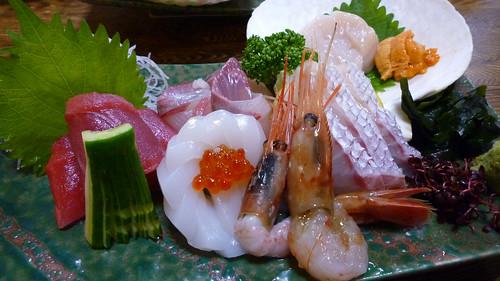 Ichiraku sashimi