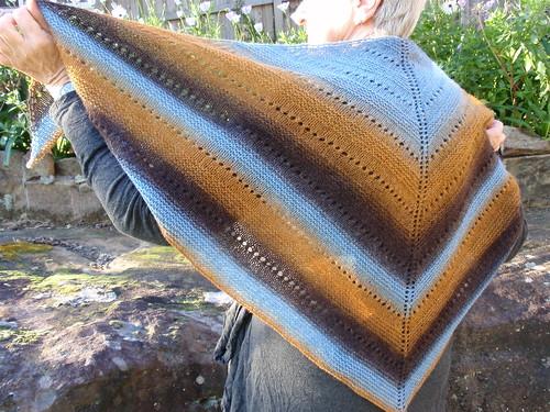 Blue shawl 3