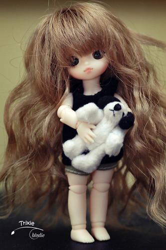 Obitsu wigs, reasonably good fit for tiny BJDs 3837631492_a1df9c7fa0
