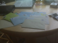 Step 4-6: Write Letters, Gather Friends Adresses, Address Your Letters