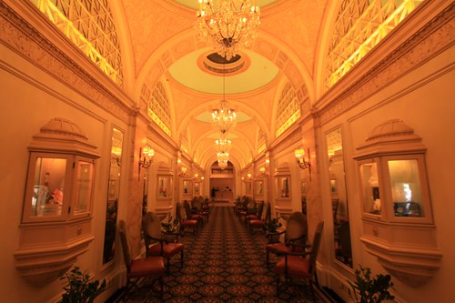 Prominent foyer in Boston...