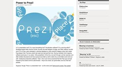 Power to Prezi! | Blog | design mind_1251421818277