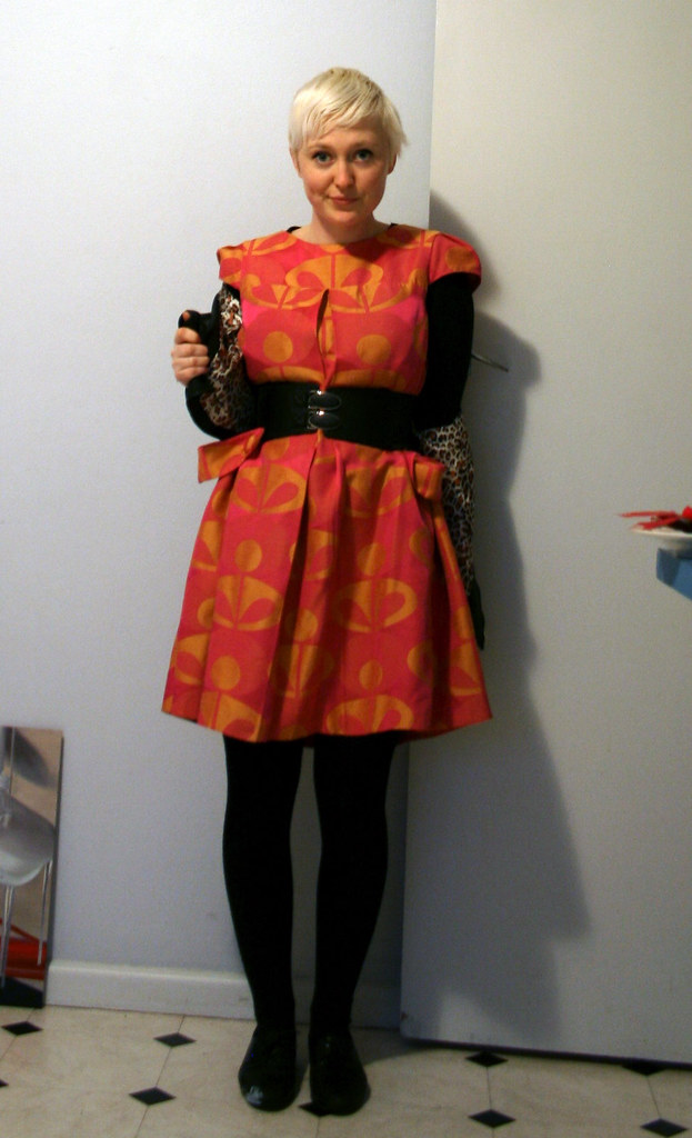 belted tent dress!