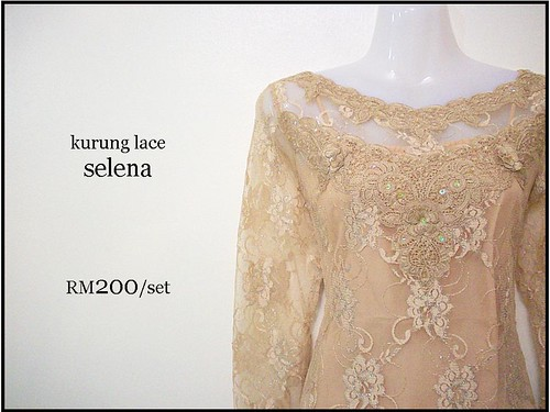 Kurung Lace Selena has been chosen as an engagement attire for most