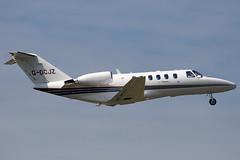 G-OCJZ - Centrelineair - Cessna 525A Citation CJ2 - Luton - 090701 - Steven Gray - IMG_5146