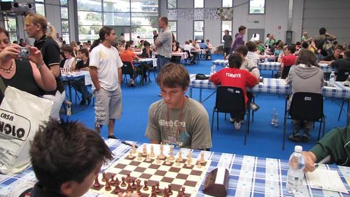 L'Andorra Marc Pericas (sub16) preparat per començar...