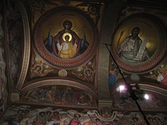 Putna, Orthodox Monastery & church (Sokleine (presently travelling)) Tags: church paintings ceiling monastery romania orthodox roumanie rumnien putna bucovine