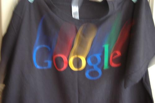 Camiseta brinde Google