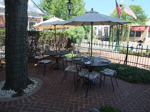The Patio at The Worthington Inn