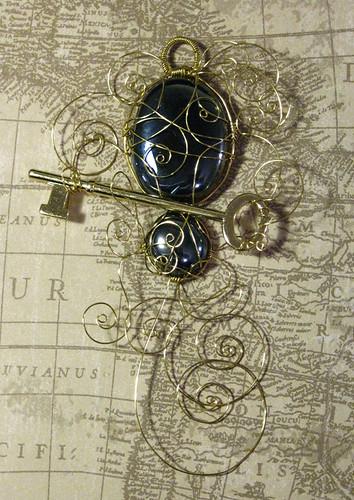 Key to Midnight Faery Stone 4