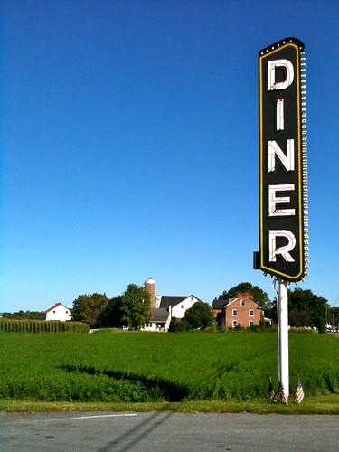 Jennie's Diner Sign Lancaster PA