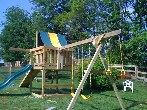 Swing Set Plans - Metal, Wood, Plastic
