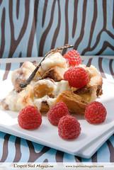 Bread pudding (Scrumptious Venus) Tags: food bread dessert pudding eggs vanilla photostyling lespritsudmagazine gastronomymagazine