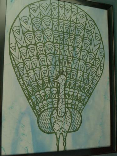 Peacock Papercutting