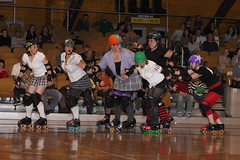 Albany All Stars130 (chimpmitten) Tags: rollerderby albany albanyny albanyallstars