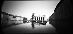 Copenhagen (Etienne Despois) Tags: travel blackandwhite bw copenhagen holga angle wide pinhole wpc