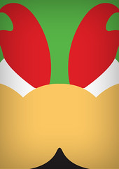 Bowser (infinitecontinues) Tags: illustration graphicdesign bowser nintendo minimal videogame colourful shape simple bold
