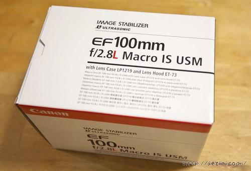 EF100mm F2.8Lマクロ IS USM レビュー