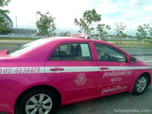 Bangkok Day 1 - Airport Taxi