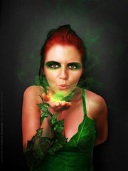 Poison Ivy (basistka) Tags: red woman hair ivy poison deviantart spells basistka