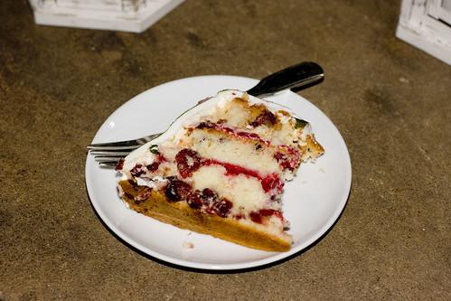 Charm City Cakes Cranberry Cake 2