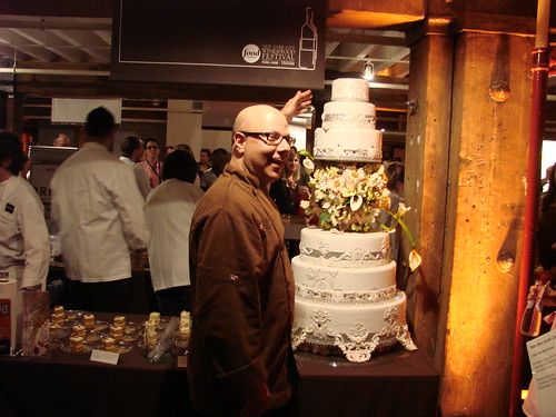 Ron Ben-Israel and his cake