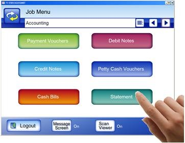 ScanSnap Adds a Network Scanner to the Mix_Job Menu